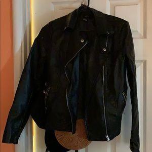 Leather forever 21 jacket